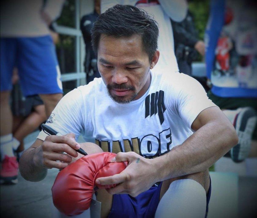 Боксьорът Мани Пакиао се кандидатира за президент на Филипините