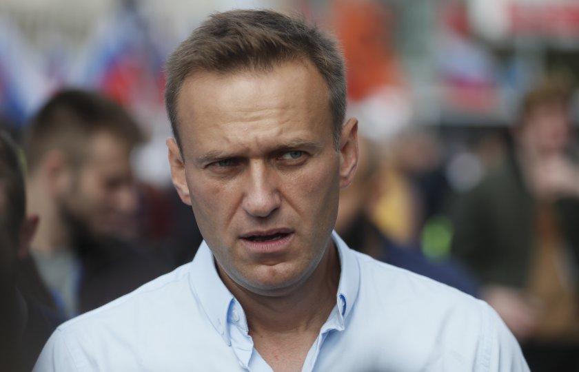 Намиращият се в затвора руски опозиционен лидер Алексей Навални обвини