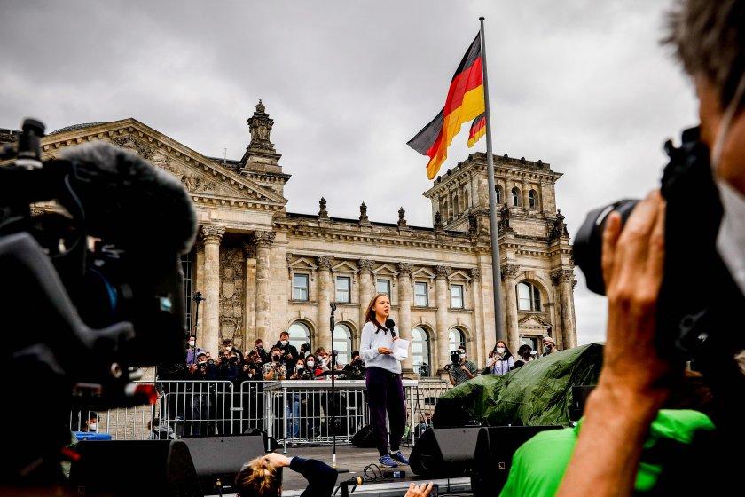 навечерието вота германия борбата климатичните промени доминира кампанията