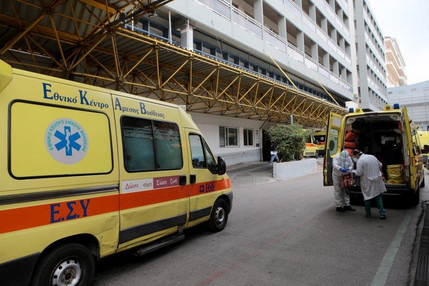 Гръцките здравни власти обявиха 1100 нови случая на коронавирус за