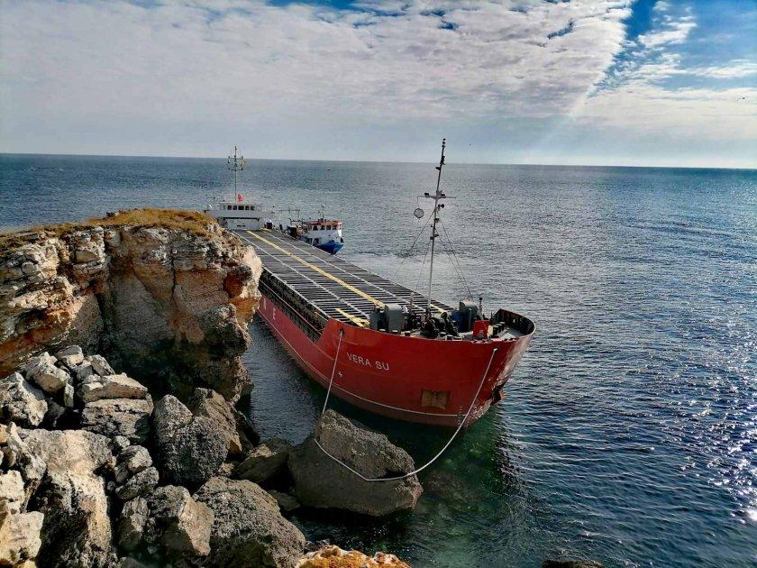 мосв индикации замърсяване морската вода товара заседналия кораб