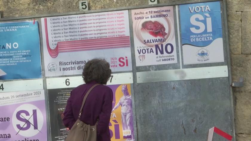 сан марино разреши абортите национален референдум