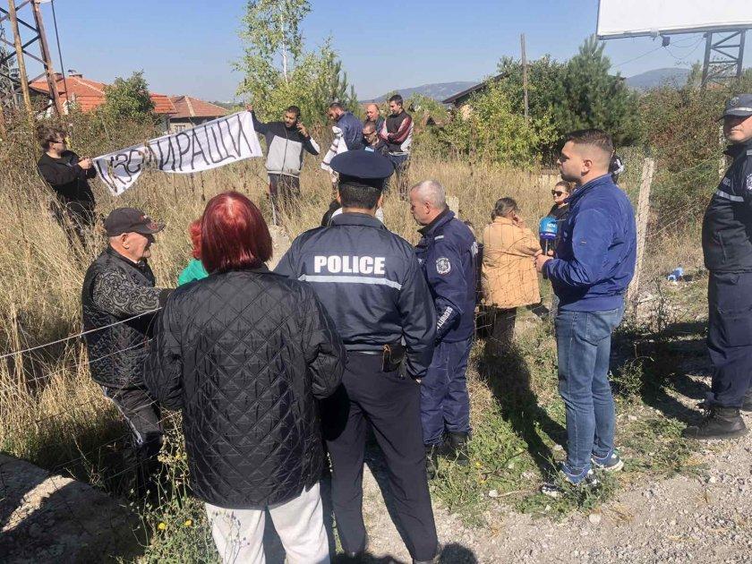 Протест край Е-79 заради шума и натоварения трафик