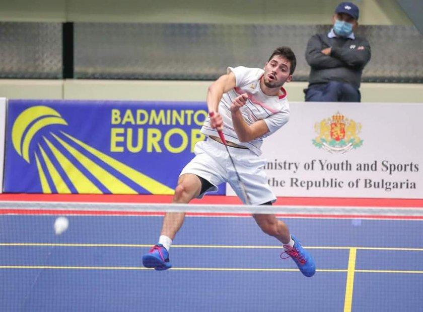 даниел николов осминафиналист турнир бадминтон нидерландия