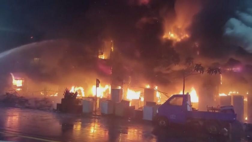 жертви пострадали пожара жилищна сграда тайван