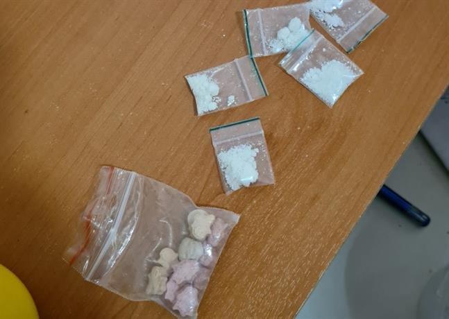 задържаха мъж амфетамин марихуана екстази кокаин софия