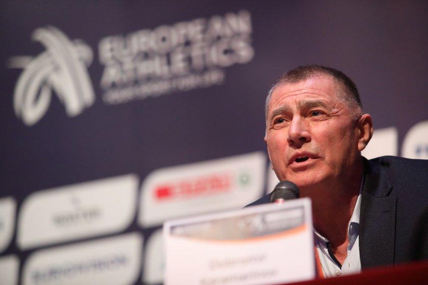 Добромир Карамаринов оглави европейската атлетика