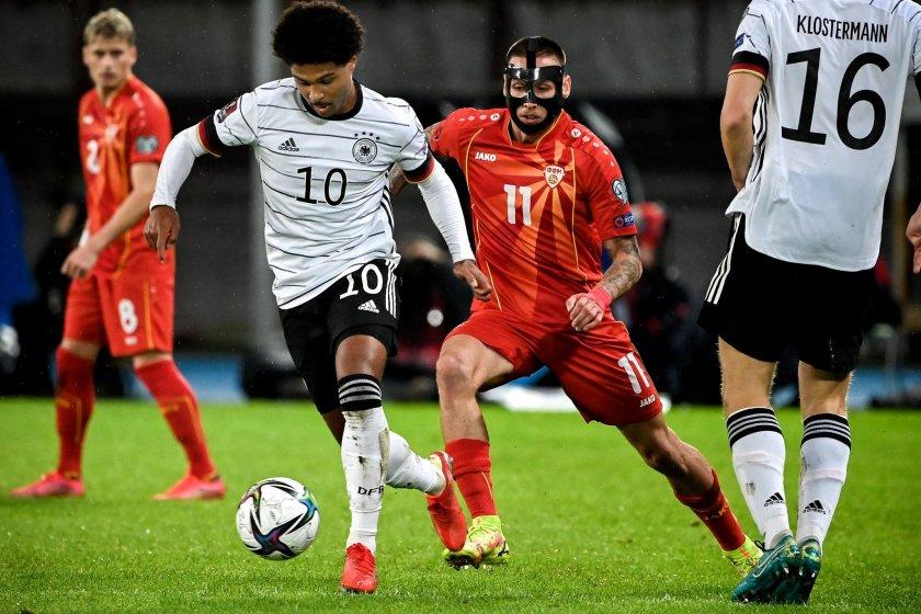 Германия разгроми Македония и се класира на Световното първенство