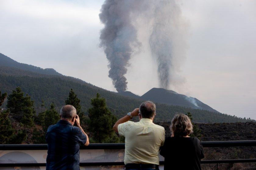 Земетресение с магнитуд 4,8 на остров Ла Палма