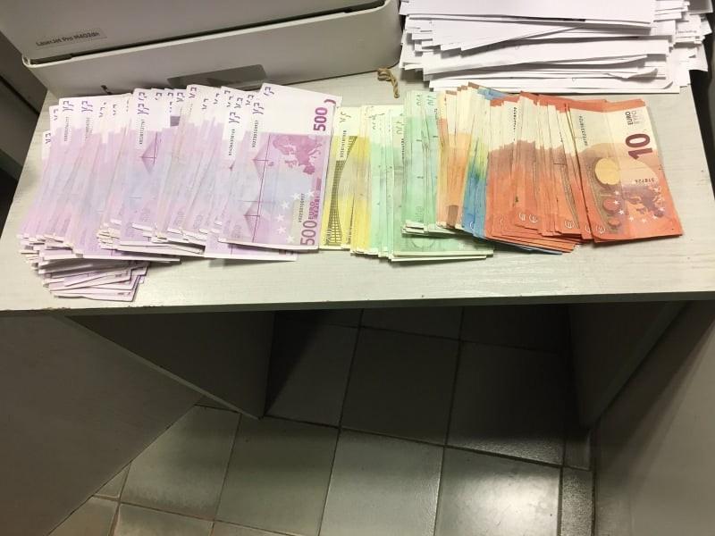 Незаконно пренасяне на валута с равностойност на 537 923 лева