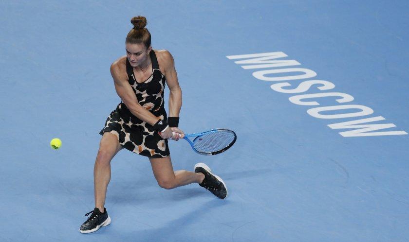 Мария Сакари сломи Халеп за полуфинал в Москва