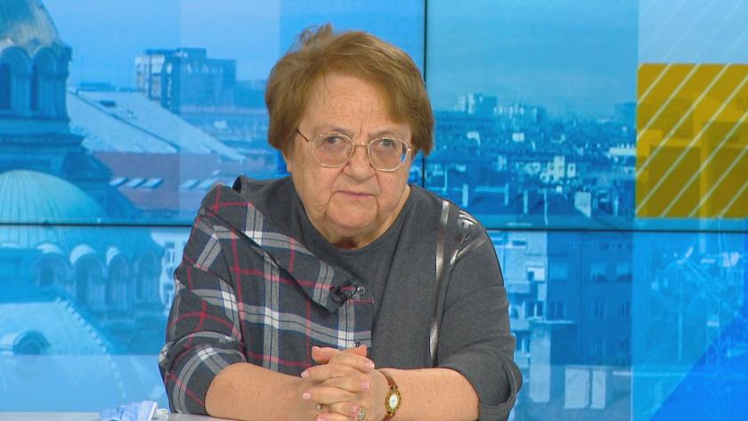 """В """"Денят започва"""" вирусологът проф. Радка Аргирова, коментира, че има"""