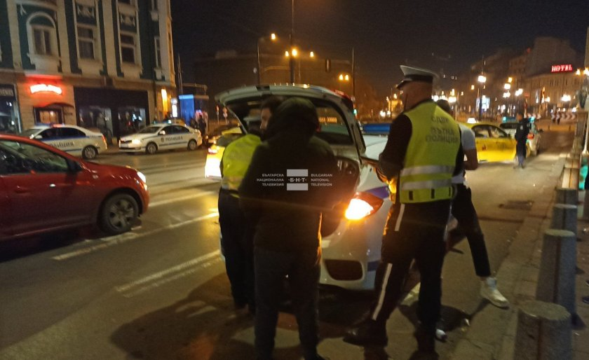 Акция на СДВР в София срещу незаконно пребиваващи и разпространение на наркотици