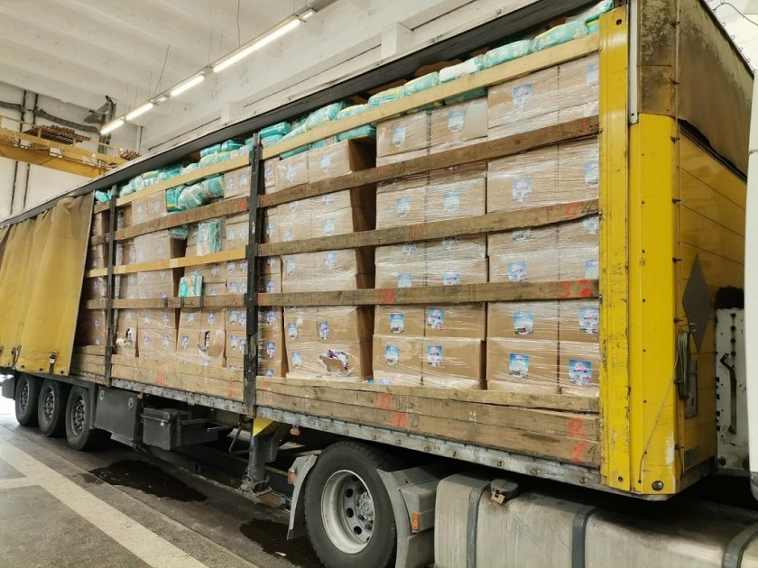 Задържаните 18 тона контрабандни препарати за растителна защита, които бяха