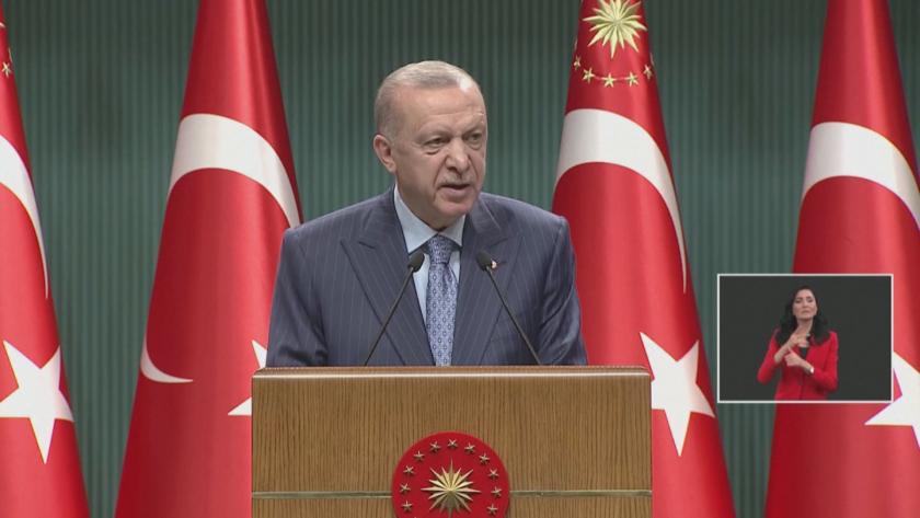 Турският президент Реджеп Тайип Ердоган се отказа от намерението си