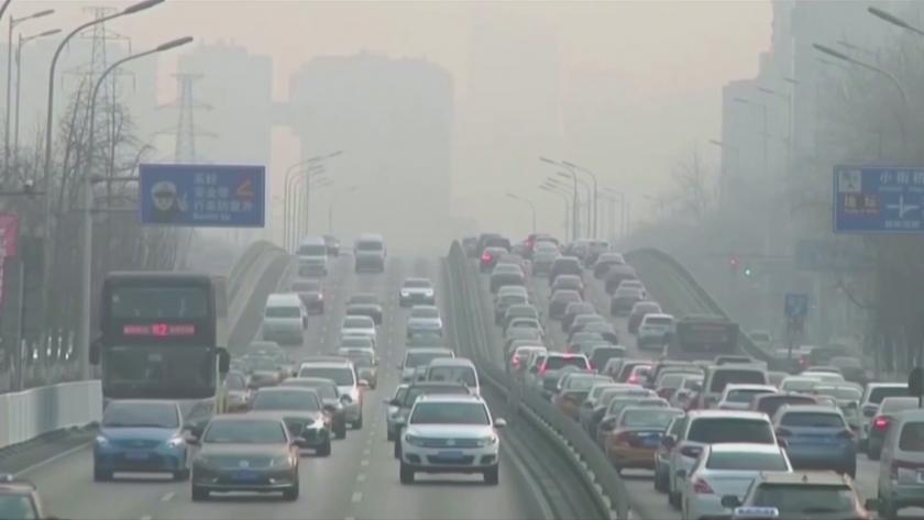 Концентрацията на въглероден диоксид в атмосферата през 2020-а година е