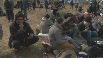 От нашите пратеници: Засилен миграционен натиск в района на Одрин