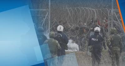 От нашите пратеници: Въведено е най-високо ниво на сигурност в област Еврос в Гърция