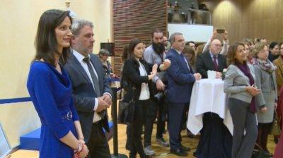 Мария Габриел откри изложба за българската следа в науката