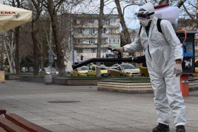 Започна дезинфекцията на обществени места в Разград