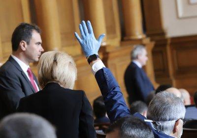 Депутатите гласуват окончателно Закона за мерките по време на извънредното положение