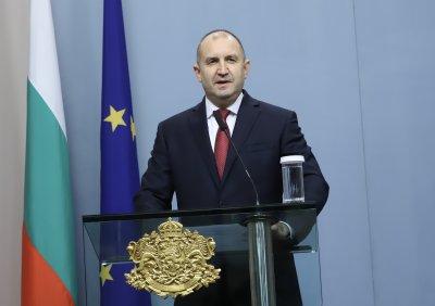 Румен Радев: За България е важно да съхрани своя човешки и икономически потенциал