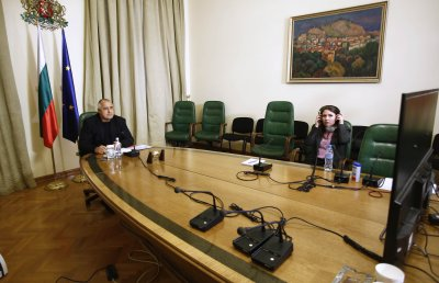 Бойко Борисов участва в заседанието на Европейския съвет заради COVID-19