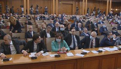 Народното събрание подкрепи ветото на президента