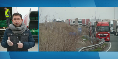 "До 15 км е намаляла опашката на ГКПП ""Капитан Андреево"""