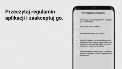 Мобилно приложение проверява поставени под карантина в Полша