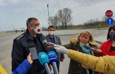 """Директорът на """"Гранична полиция"""": Мерките за тировете на """"Капитан Андреево"""" дават резултат"""