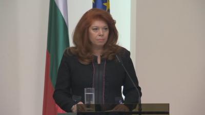Вицепрезидентът Йотова дарява заплатата си на Центъра за спешна медицинска помощ – София