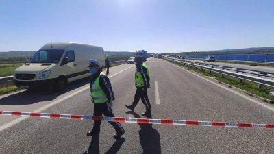 """Петима са ранени след две верижни катастрофи на АМ """"Марица"""""""