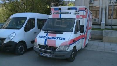 Дариха линейка на спешния център в Провадия