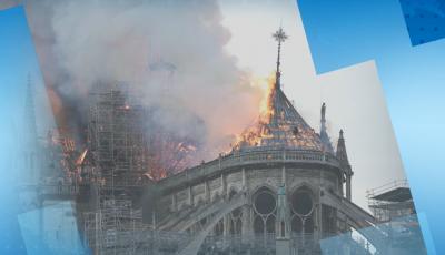 Със звън на най-тежката камбана Франция отбелязва година от пожара в Нотр Дам