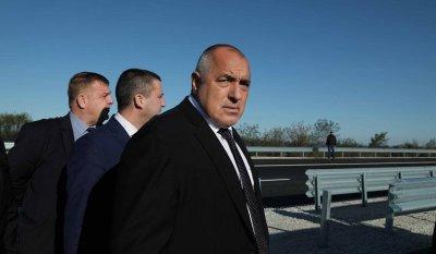 """Борисов отчете огромен напредък по изграждането на АМ """"Хемус"""""""