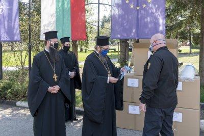 Жандармерията получи дарение от Софийската Света митрополия