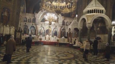 """Катедралният храм """"Св. Ал. Невски"""" остана пуст"""