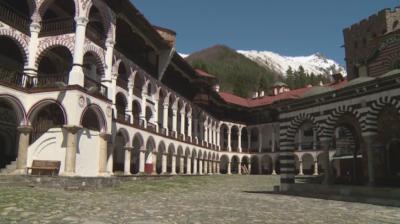 С редица ограничителни мерки ще посрещнат Великден в Рилския манастир