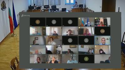 ВСС обсъжда казуса със скандалния клип, сниман в Съдебната палата