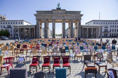 """Ресторантьорите в Берлин организираха протест на """"празните столове"""""""