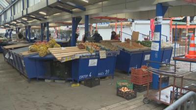 Ситуацията на Женския пазар е спокойна в първия работен ден след Великден