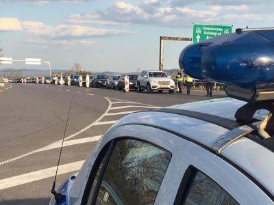 Засилват контрола на влизащите в София