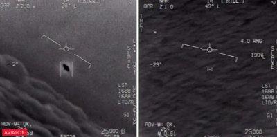 Пентагонът публикува кадри с НЛО (ВИДЕО)