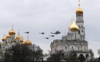 В Москва се състоя репетиция на авиошоуто за 9 май
