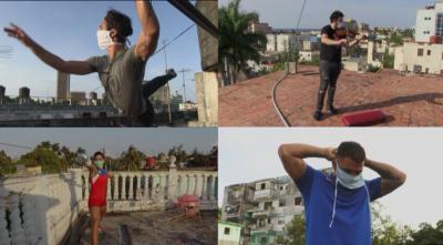 Кубински таланти тренират по покривите на Хавана