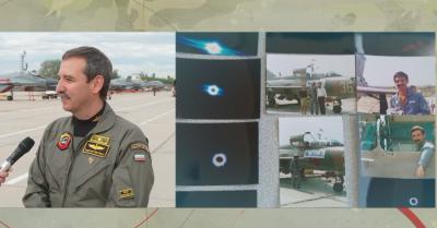 Български военен пилот успя да снима слънчевото затъмнение от борда на МИГ-21
