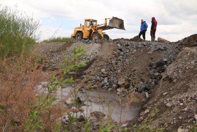 Експерти извършиха оглед на шламохранилището в Перник