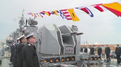 Военноморските сили на България също отбелязаха Деня на храбростта
