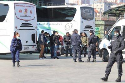 Издирват се пътниците от автобус от София до Хасково на 1 май